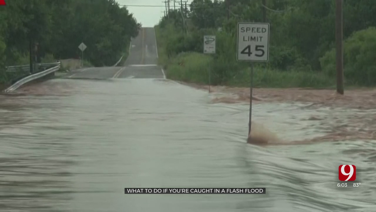 'Just Don't Do It': OKCFD Warns Against Driving In Floodwaters