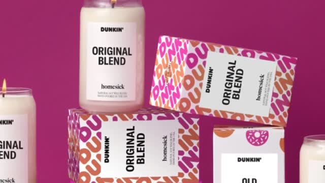 Dunkin Releases Scented Candles For Holidays