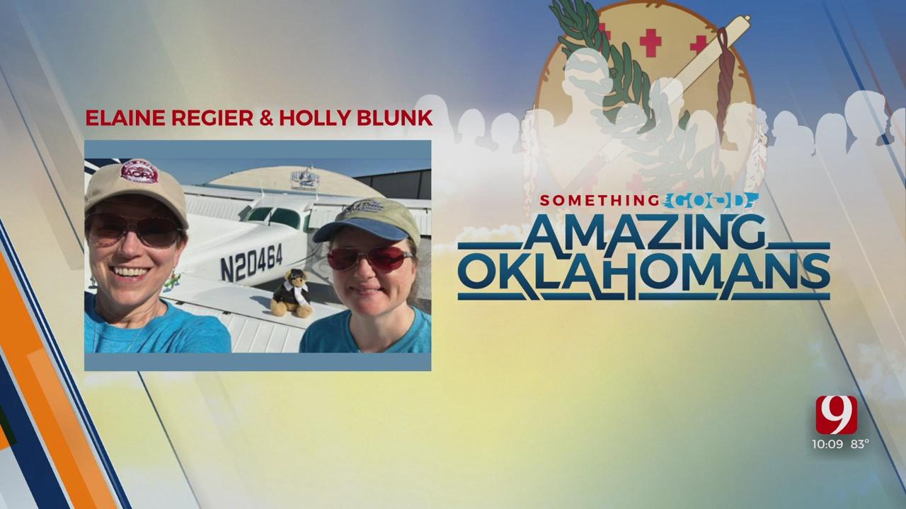 Amazing Oklahoman: Elaine Regier & Holly Blunk