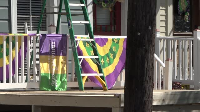 Louisiana Group Plans 'House Floats' Decorations To Celebrate Mardi Gras Safely