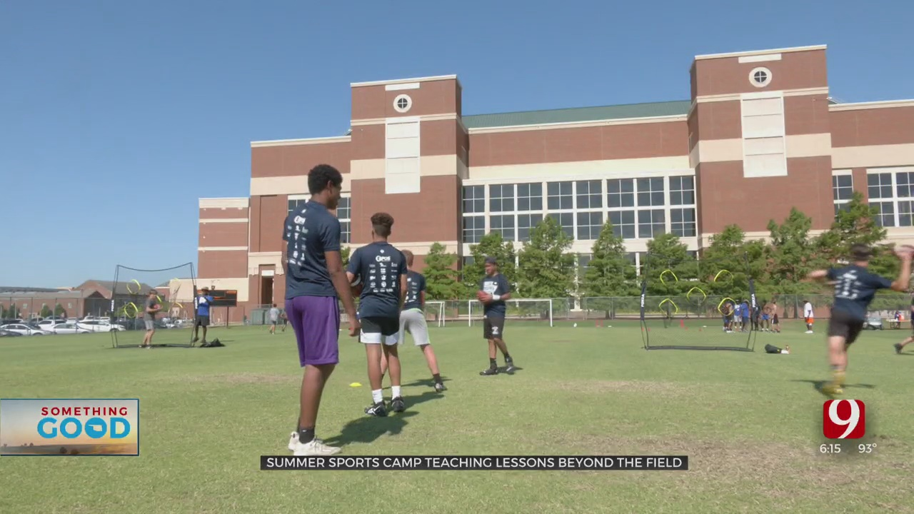 Sports Camp Teaches Kids Lessons Beyond The Field