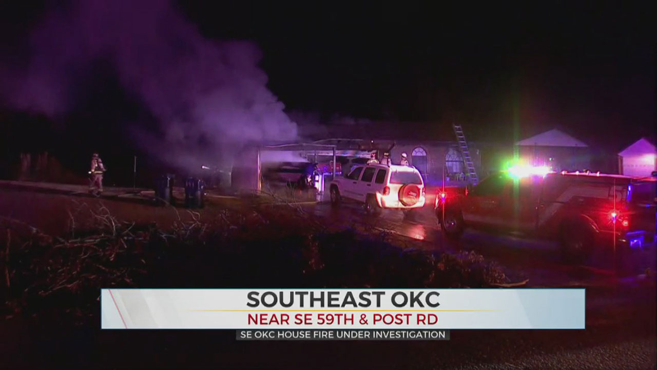 Firefighters Investigate Early Morning SE OKC House Fire