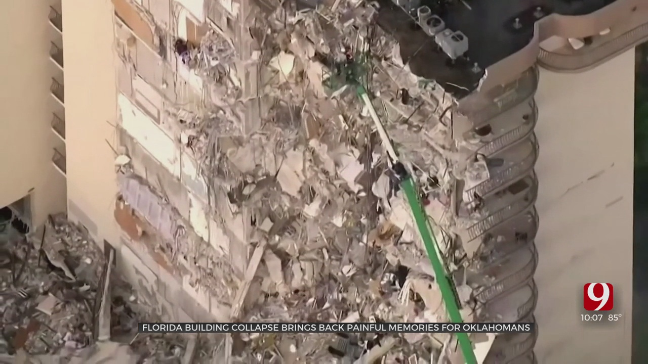 Florida Building Collapse Brings Back Painful Memories For Oklahomans