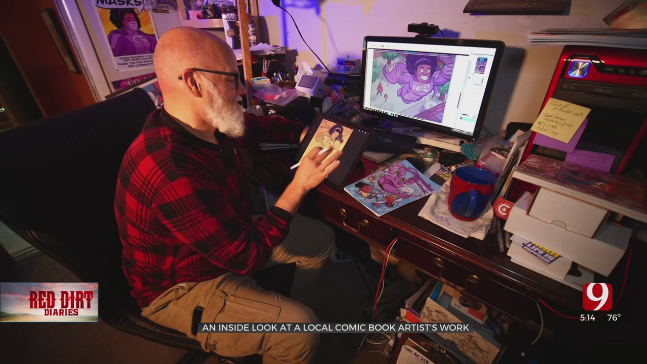Red Dirt Diaries: Local Artist Tackles Real Issues in Comic Book