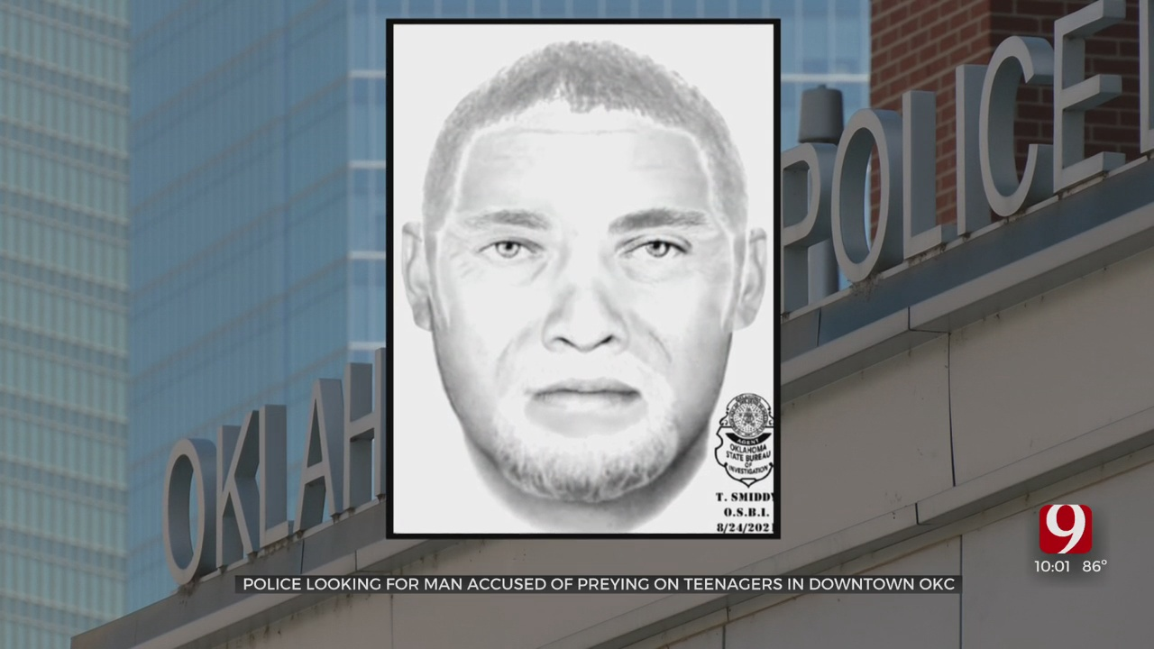 Oklahoma City Police Release Suspect Sketch After Separate Kidnapping Attempts Downtown