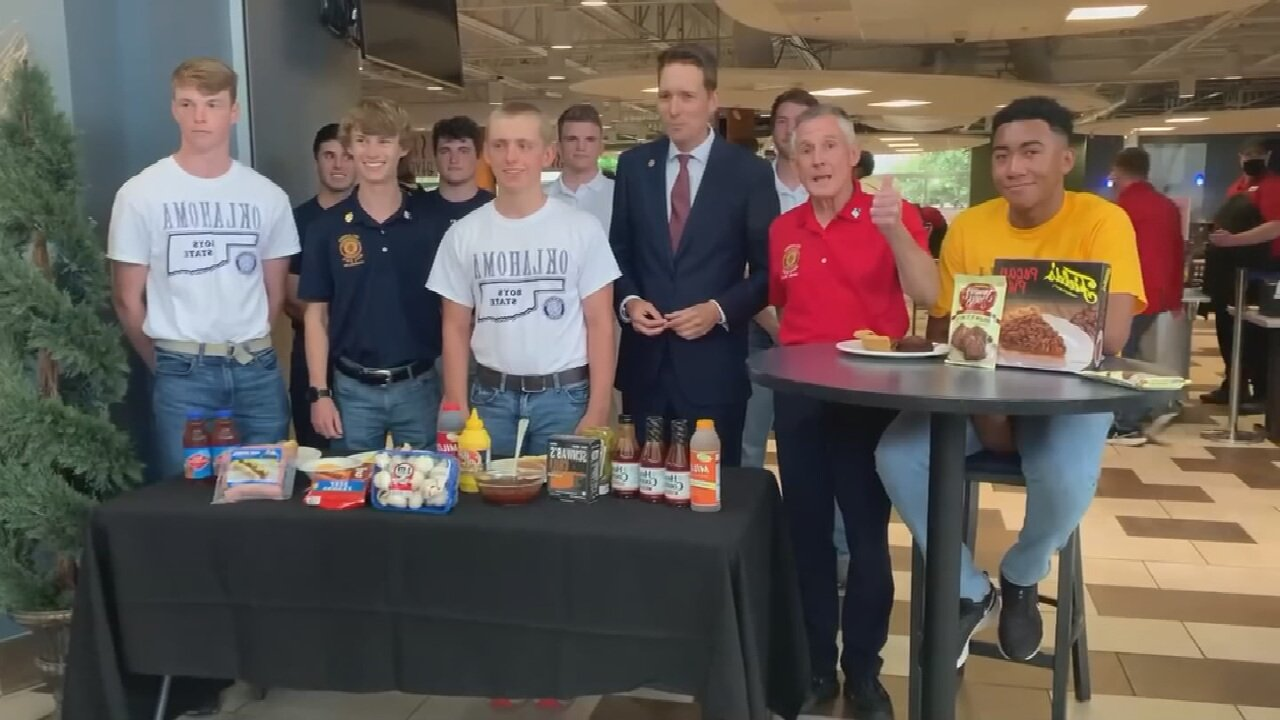 Made In Oklahoma: Best Local Food With Lt. Governor Pinnell, Oklahoma American Legion Boys State