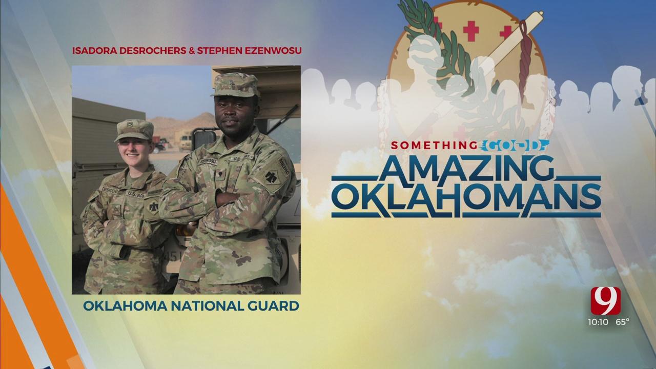 Amazing Oklahoman: Stephen Ezenwosu & Isadora Desrochers