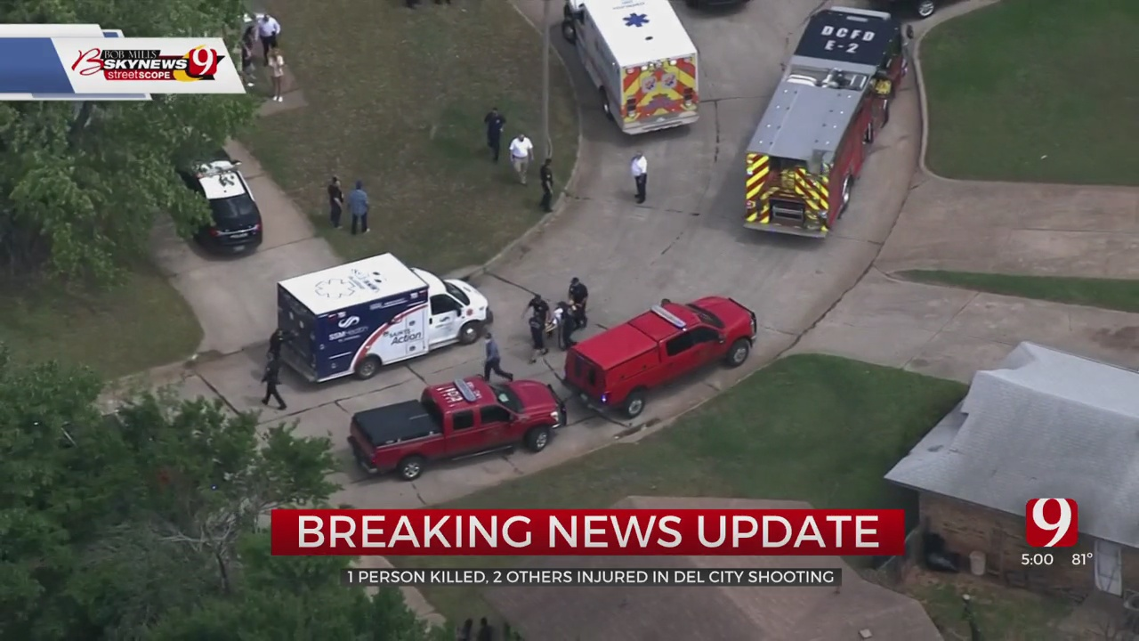 1 Dead, 2 Injured In Del City Shooting, Police Say