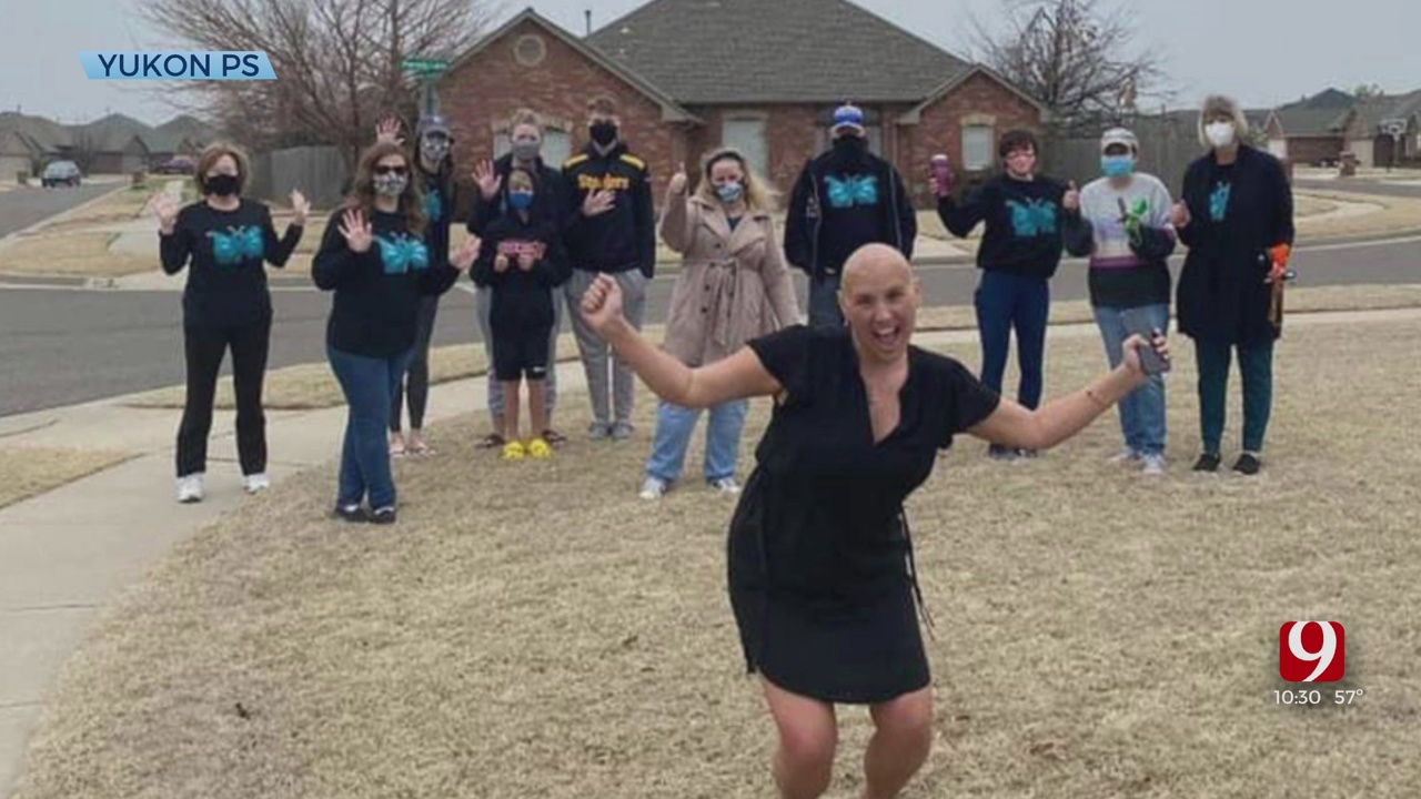 Yukon Teacher Celebrates Being Cancer Free After Completing Chemotherapy