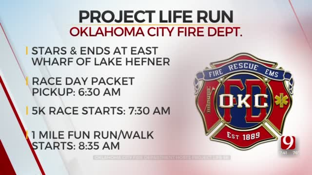 Watch: OKCFD Captain Bruce Alexander Discusses 8th Annual Project Life 5K