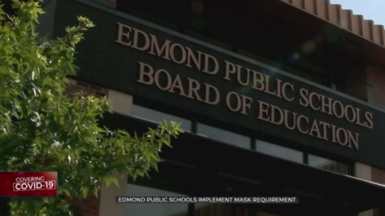 New Mask Requirement Set To Go In Effect Next Week In Edmond