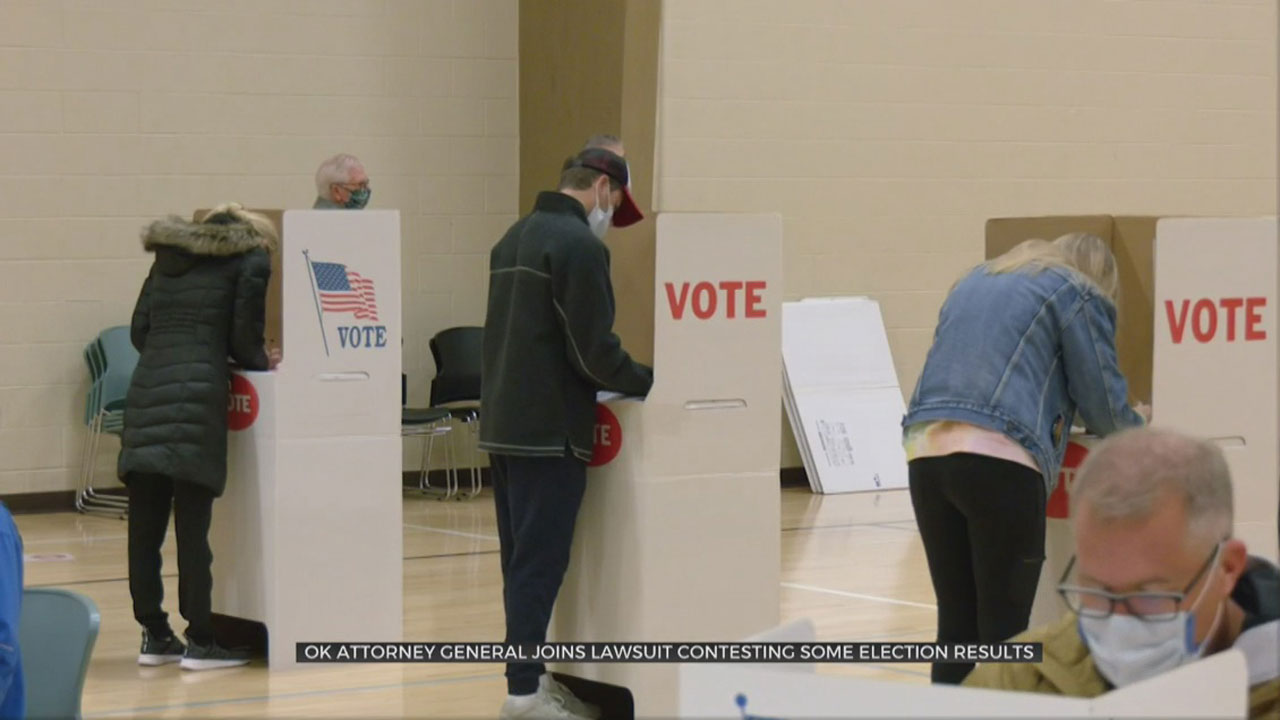 Okla. Attorney General Mike Hunter Joins Lawsuit Contesting Election Results