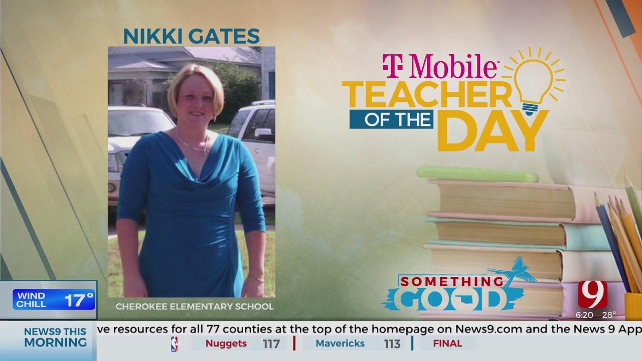 Teaher Of The Day: Nikki Gates