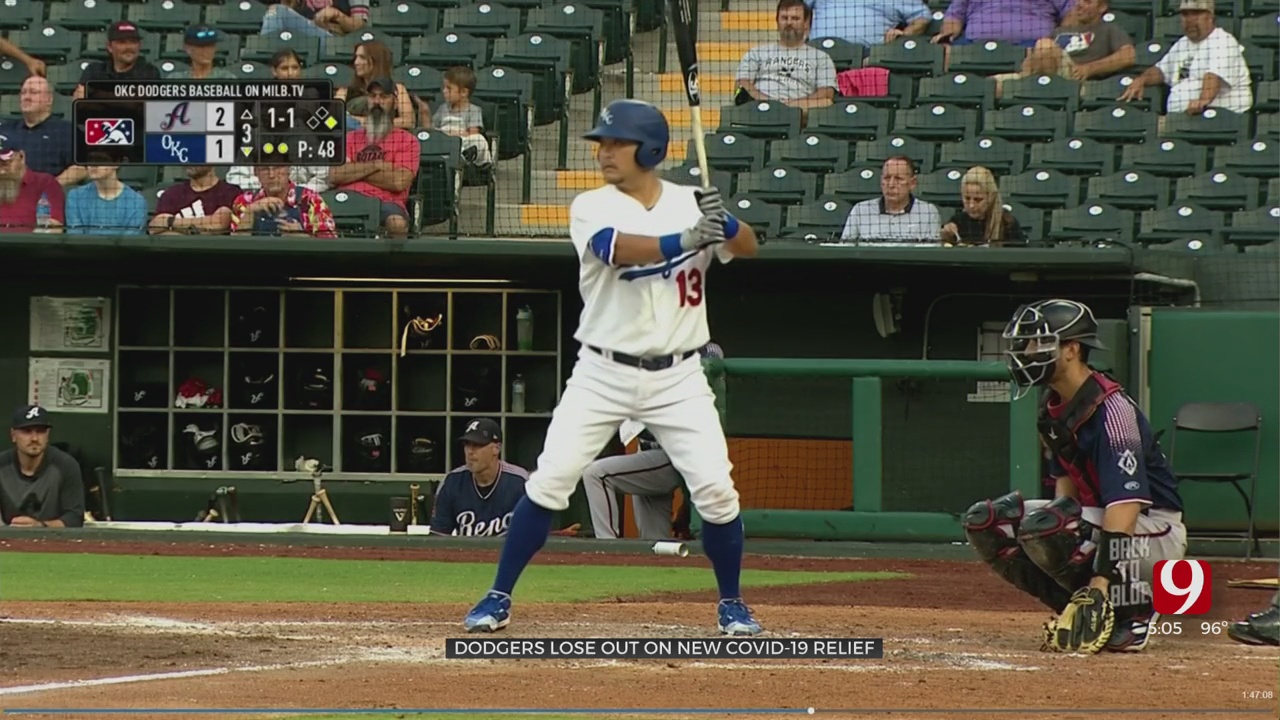 OKC Dodgers Could Be Left Out Of Minor-League COVID-19 Relief