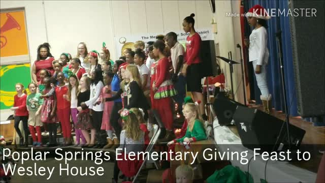... Giving Feast At Poplar Springs Elementary Benefits The Wesley House In  Meridian0:27 ...