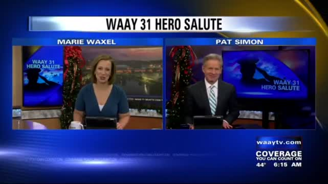 Image for WAAY 31 Hero Salute: Donald Crow