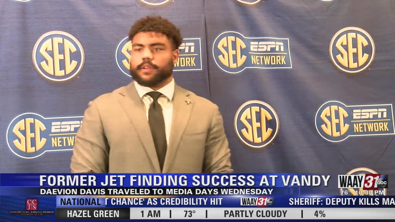 Image for Former Jet Finding Success at Vandy