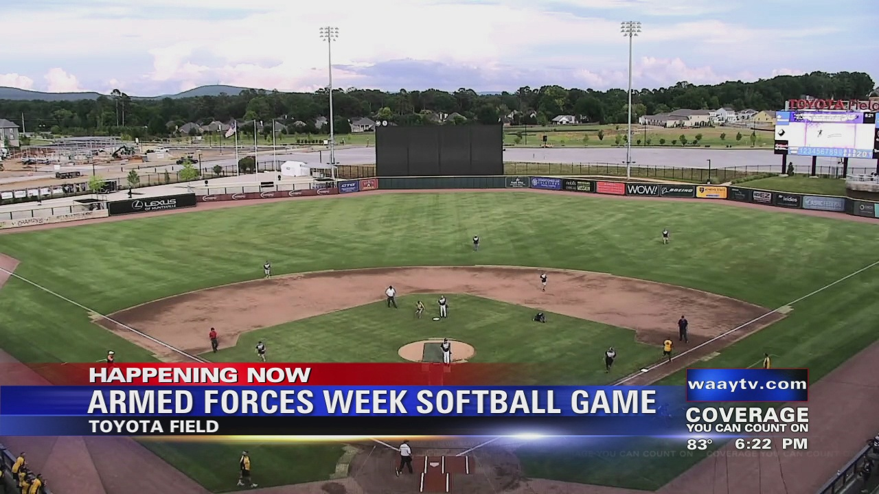 Image for Armed Forces Week Softball Game