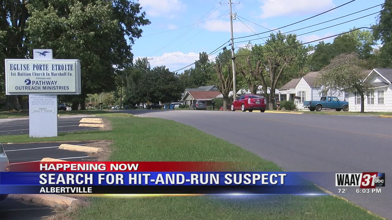 Image for Search For Hit-And-Run Suspect