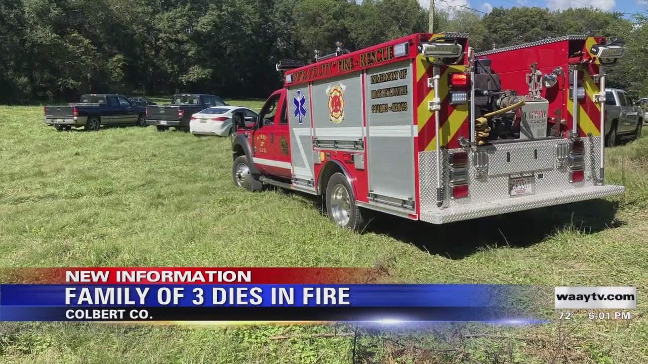 Image for Family Of 3 Dies In Fire
