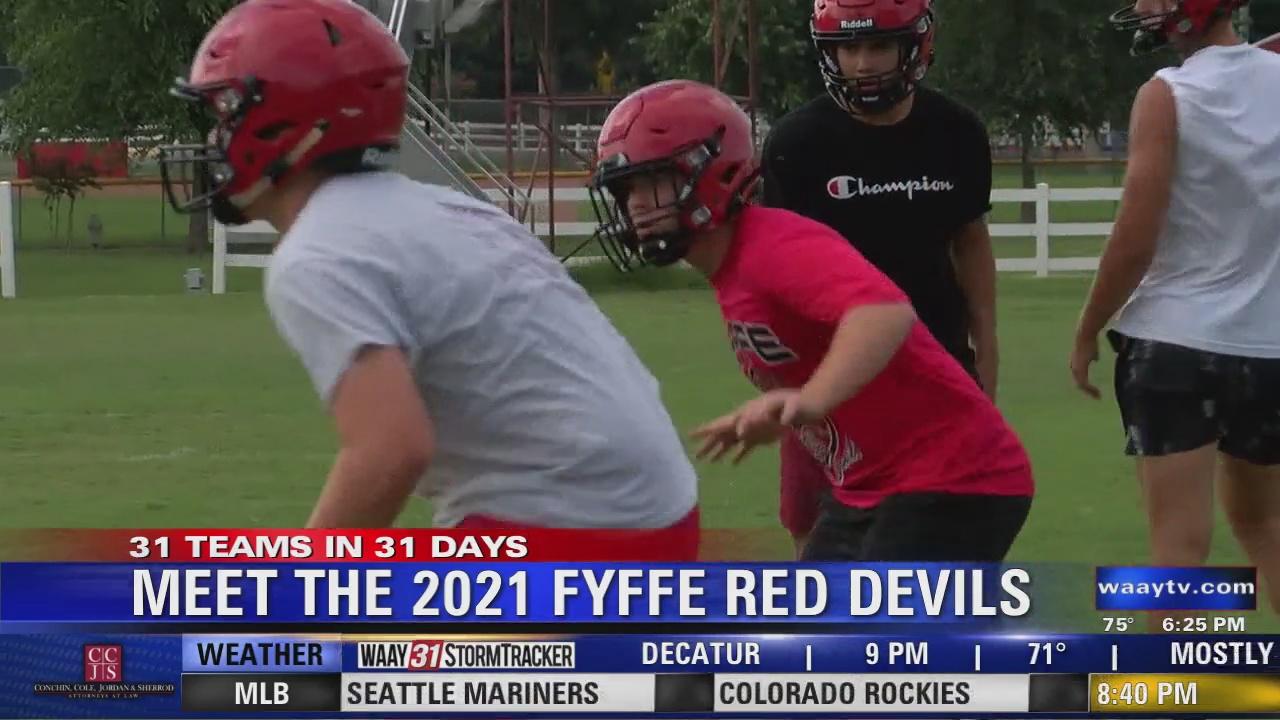 Image for WAAY's 31 Teams in 31 Days high school football spotlight: Fyffe Red Devils