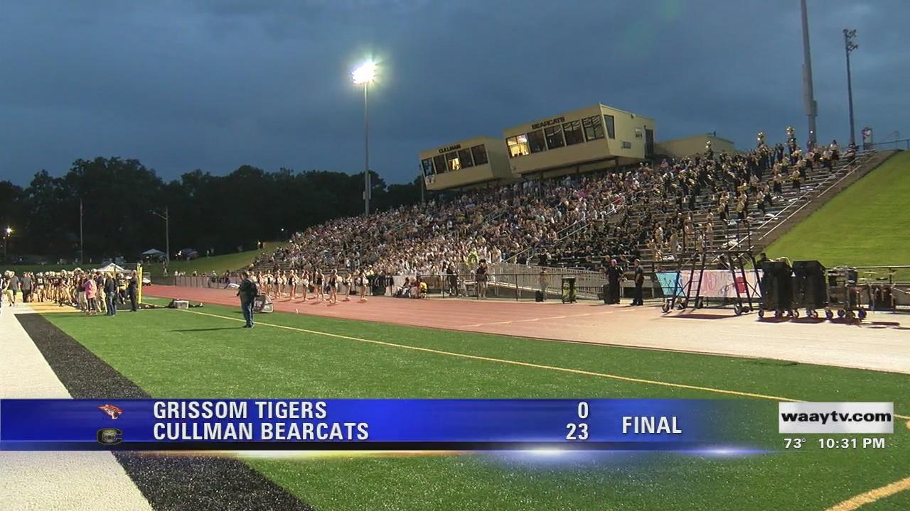Image for WAAY 31 Big Game Friday Night: Thursday Aug. 19 high school football scoreboard
