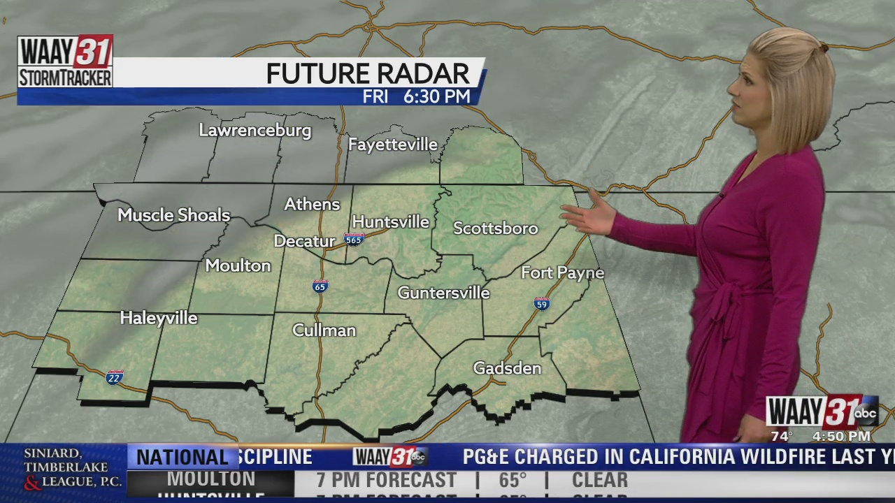 Image for Kate's Friday Evening Forecast