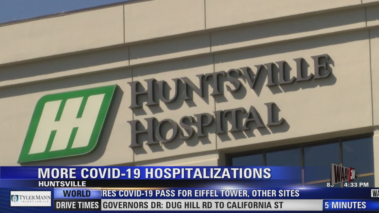Image for Huntsville Hospital system seeing an increase in patients with coronavirus