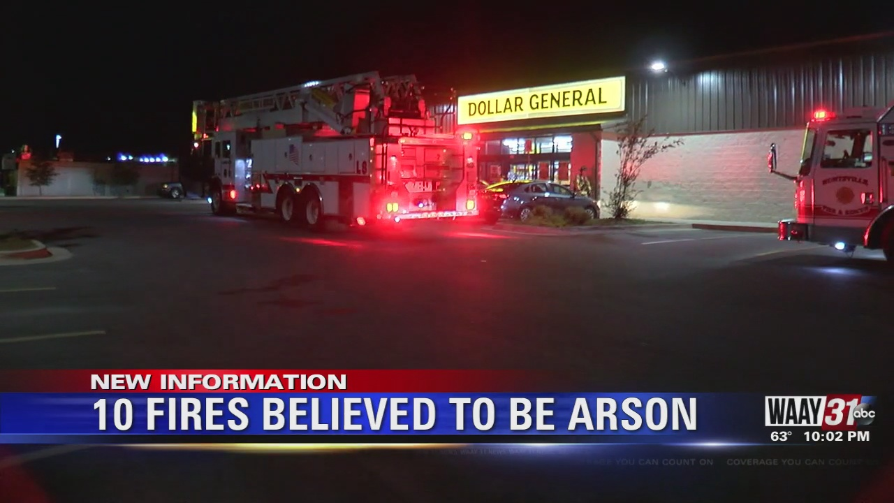 Image for 10 Fires Believed to be Arson