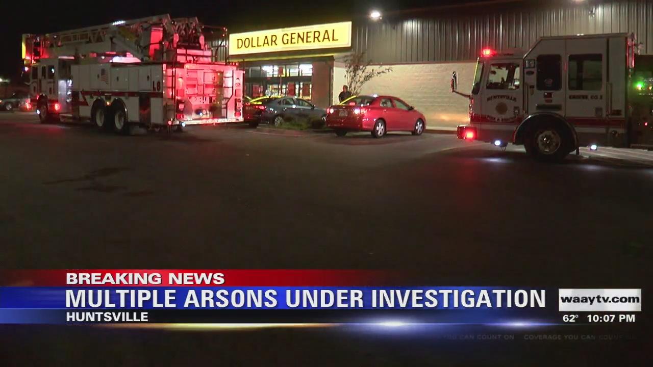 Image for Suspect in Custody, Seven Fires Intentionally Set in Huntsville