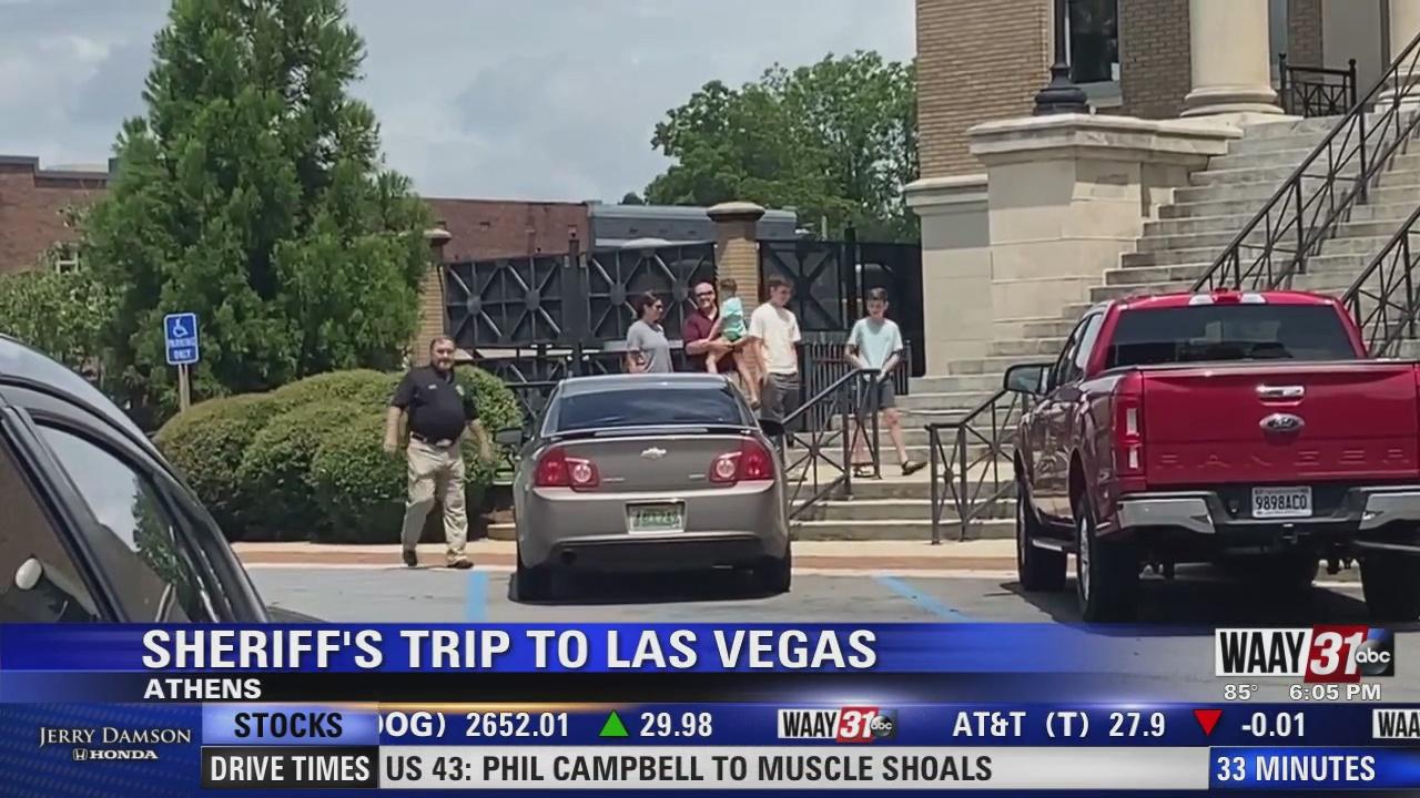 Image for Sheriffs Trip To Las Vegas