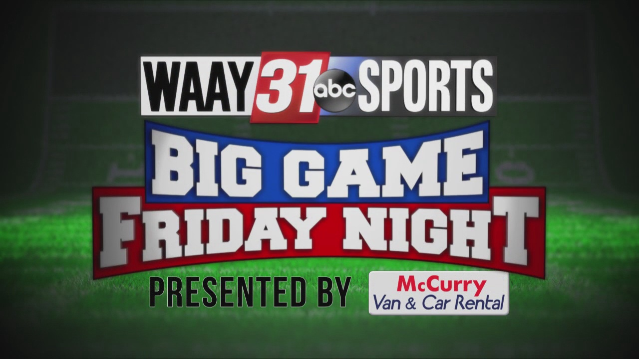 Image for WAAY 31 Big Game Friday Night: Oct. 15