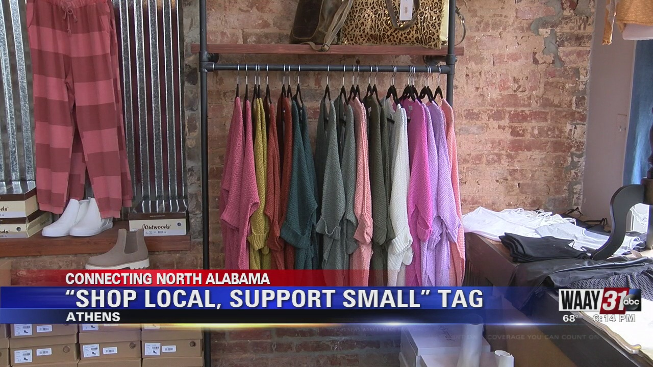"""Image for """"Shop Local, Support Small"""" Tag"""