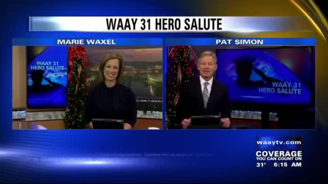 Image for WAAY 31 Hero Salute: Shelton Torbert