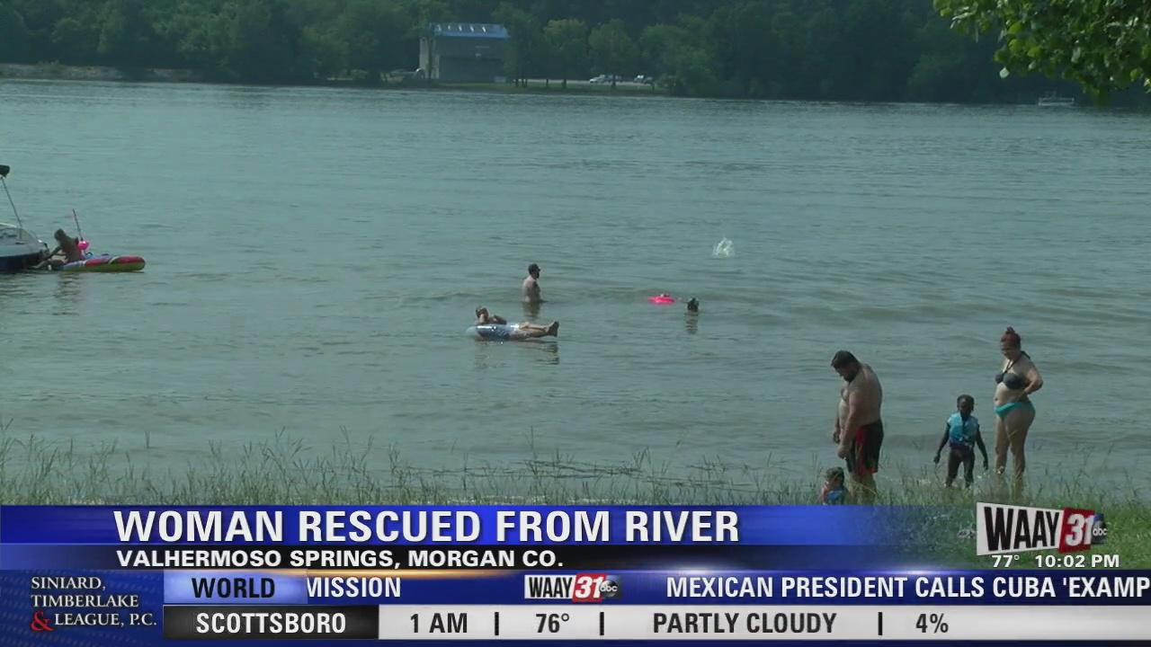 Image for Woman Rescued from Tennessee River in Morgan County