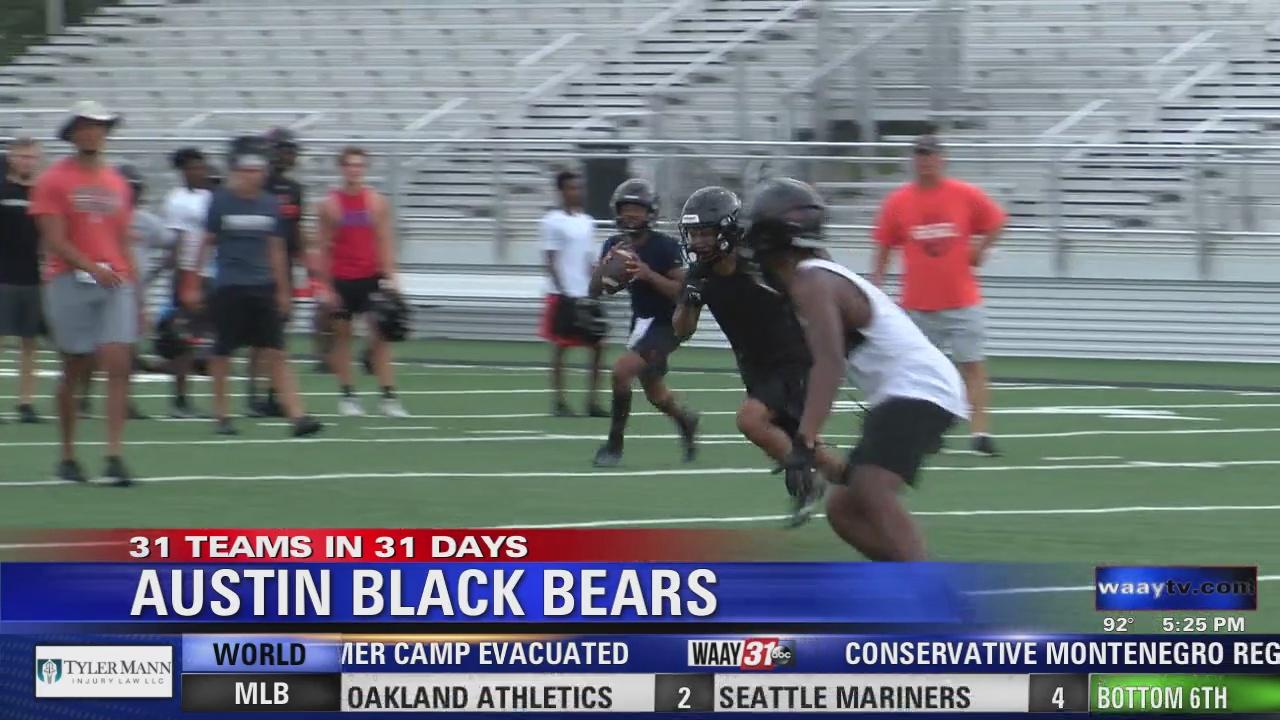 Image for WAAY's 31 Teams in 31 Days high school football spotlight: Austin Black Bears