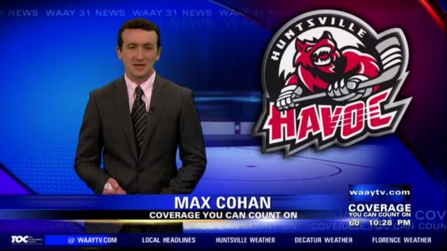 Image for Huntsville Havoc fall to Macon in SPHL semifinals