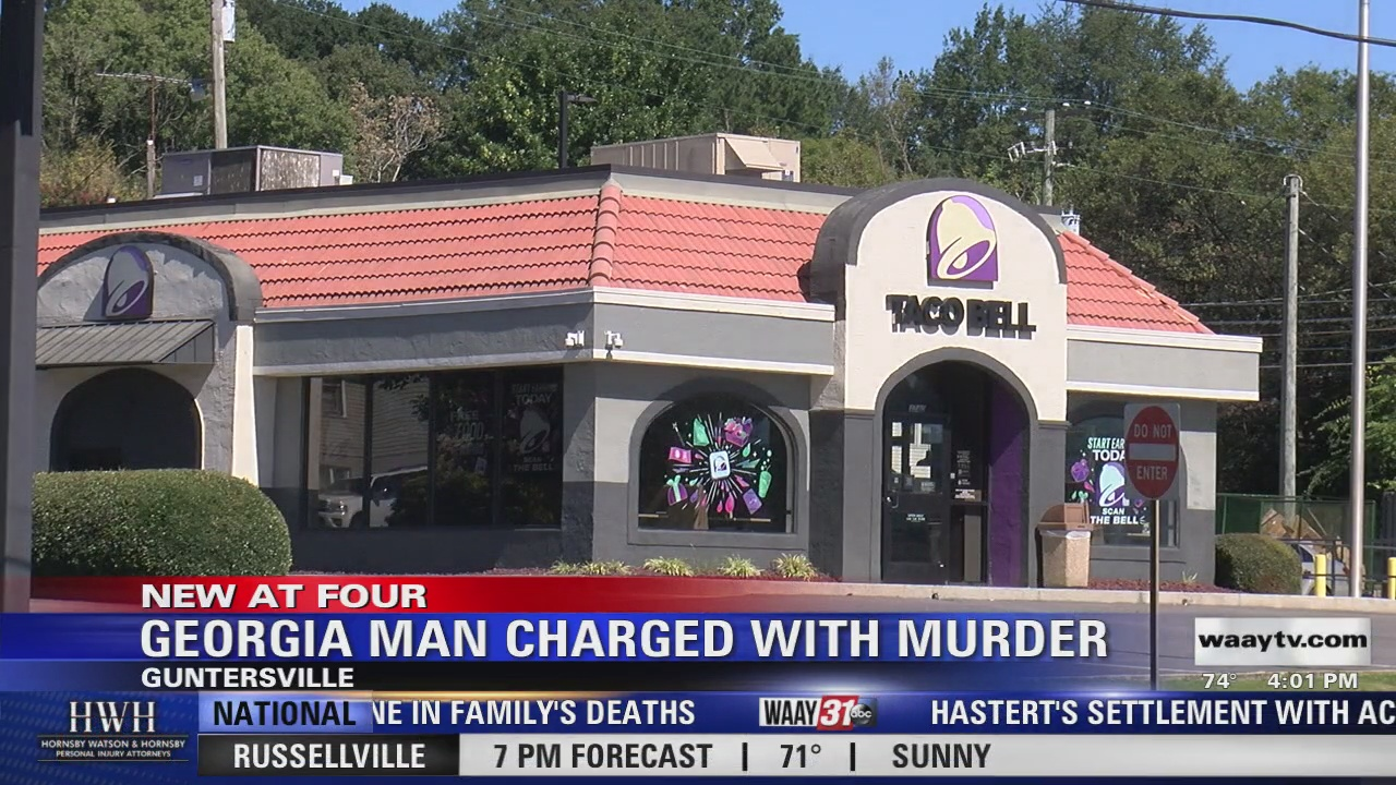 Image for Victims, suspect identified in Guntersville Taco Bell double murder