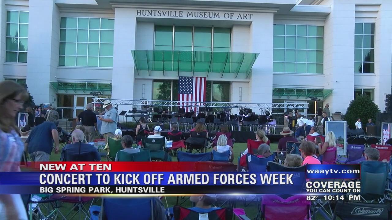 Image for Concert in Big Spring Park kicks off Armed Forces Week