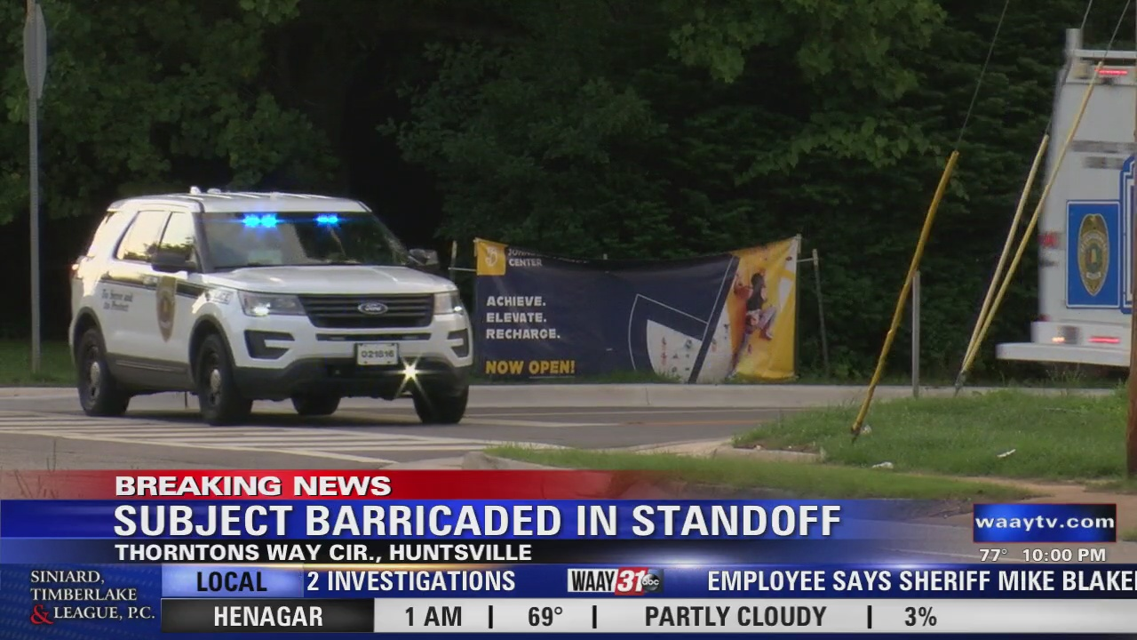 Image for Subject Barricaded in Standoff