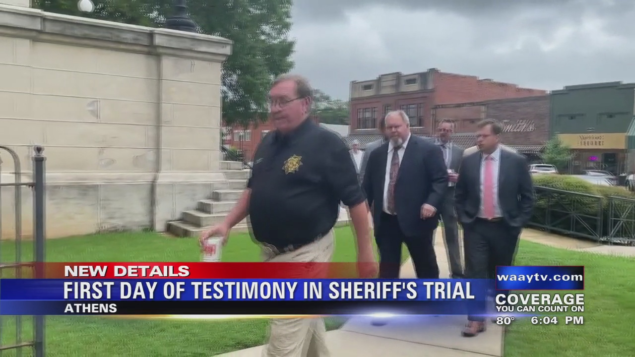 Image for First Day Of Testimony In Sheriff's Trial