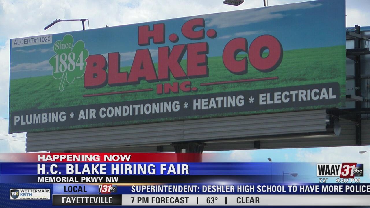 Image for HC Blake Co. hosts job fair