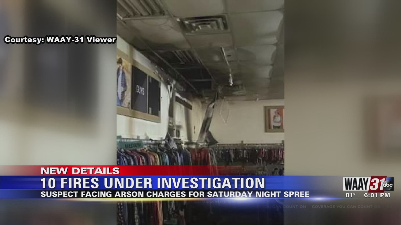 Image for 10 fires under investigation in Madison County