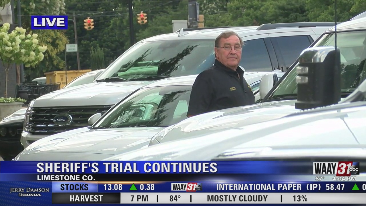 Image for Criminal trial continues for Limestone County Sheriff Mike Blakely