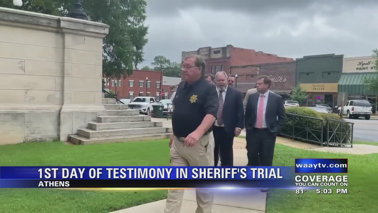 Image for 1st Day of Summary in Sheriff's Trial