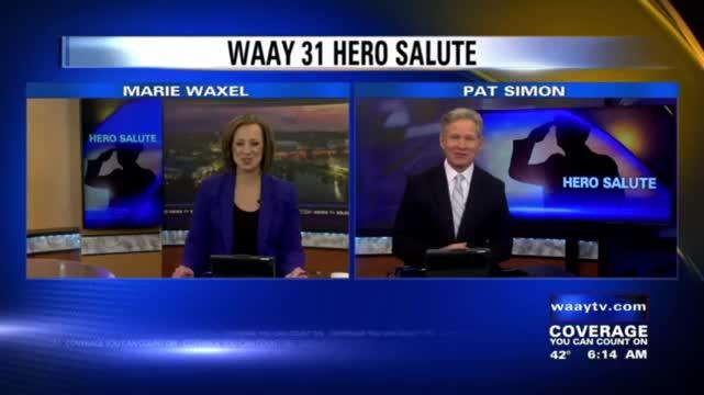 Image for WAAY 31 Hero Salute: Matt Cosby