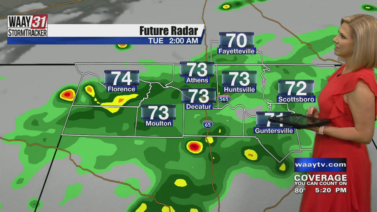 Image for Kate's Monday Evening Forecast