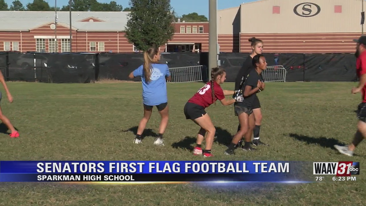 Image for Senators First Flag Football Team