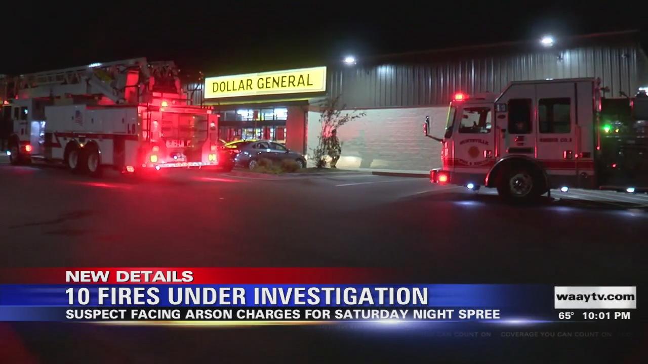 Image for 10 Fires Under Investigation