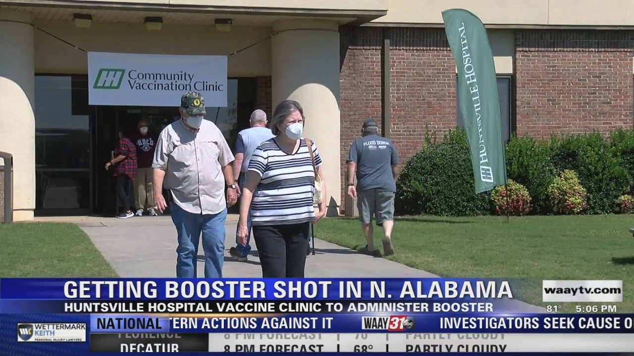 Image for Getting the Booster Shot in North Alabama